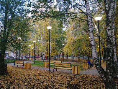 Russia Outdoor Lighting Project